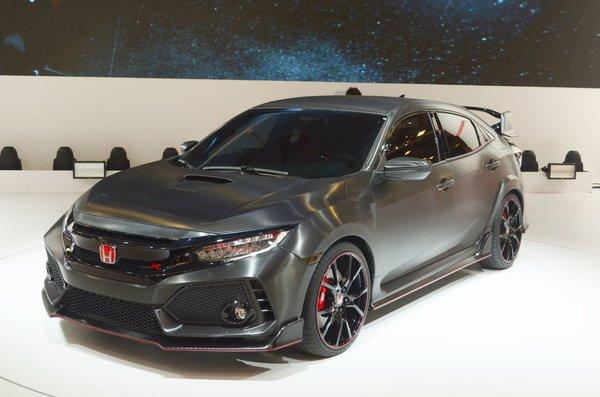 Honda Présente une Toute Nouvelle Civic Type R à Paris