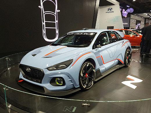 Hyundai RN30 : le nouveau prototype haute performance de Hyundai