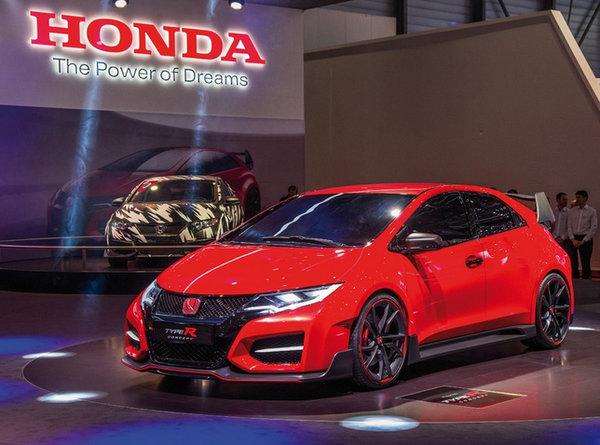 On veut la Honda Civic Type-R 2015 au Canada!