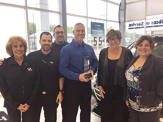 Hyundai Shawinigan obtient la certification Signature!