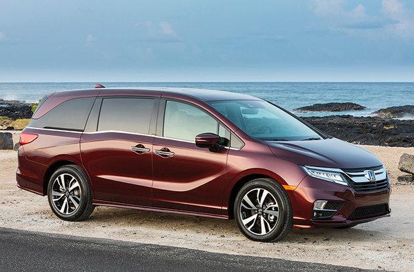 Honda Odyssey 2018-2019 : le choix idéal pour la famille.