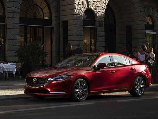La Mazda6 2018 enfin dévoilée!