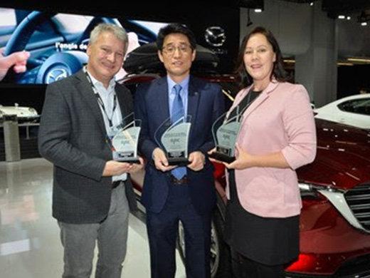 Mazda remporte des prix de L'AJAC dans trois catégories