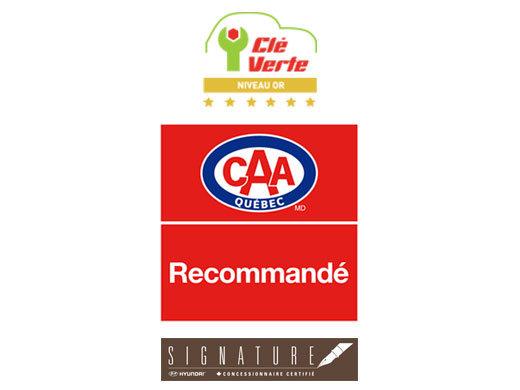 Accréditation CAA, certifications Clé verte et Signature!