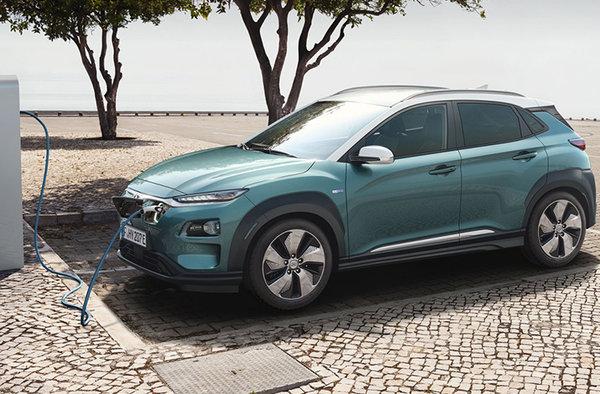 Kona électrique 2019 : Hyundai gagne la course de l'autonomie !