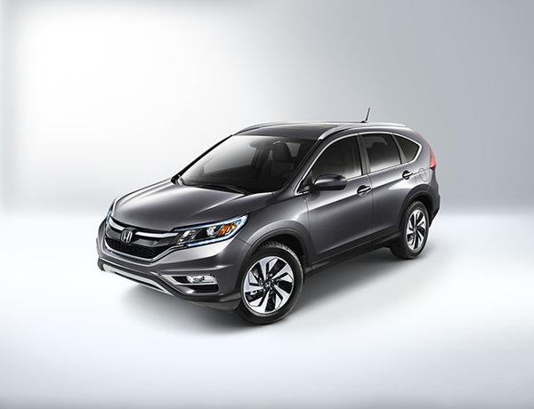 Le Honda CR-V proclamé «Véhicule utilitaire sport de l'année 2015» par Motor Trend