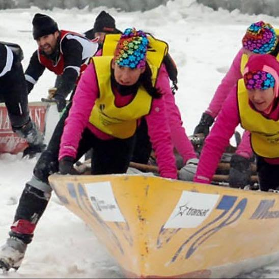 Un premier partenariat réussi avec l'équipe de canot à glace MVC Océan/Hyundai Trois-Rivières!