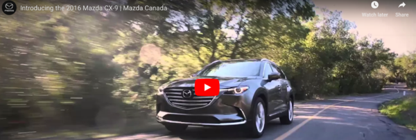Introducing the 2016 Mazda CX-9