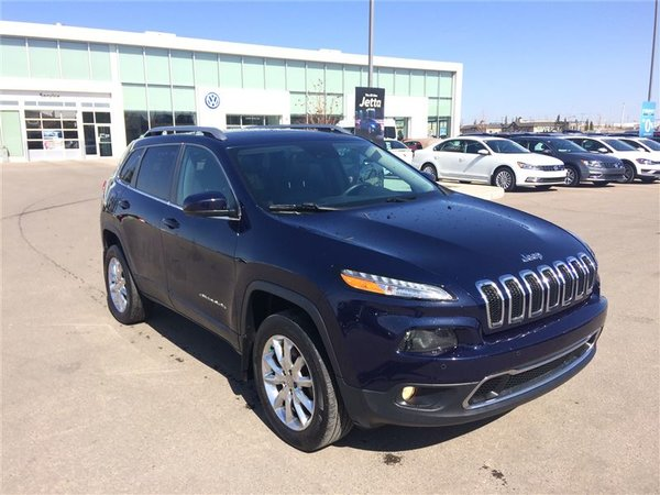 2015 Jeep Cherokee 4x4 Limited
