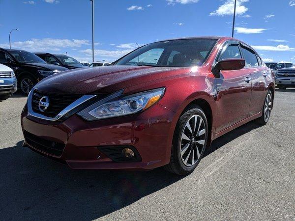 2018 Nissan ALTIMA SEDAN 2.5 SV CVT Sedan 2.5 SV CVT