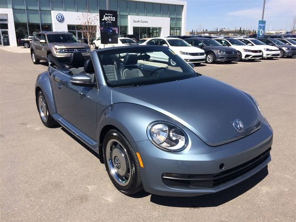 2016 Volkswagen The Beetle Convertible Denim Edition 1.8T 6sp at w/ Tip