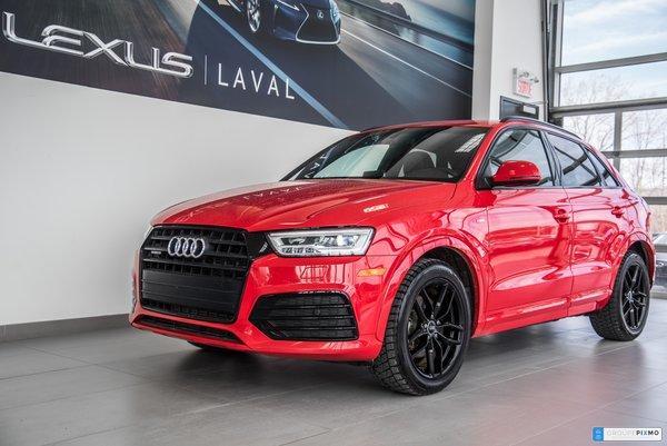 Audi Q3 TECHNIK / GPS / CUIR / TOIT PANO / MAG 20'' 2017
