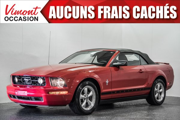 2008 Ford Mustang 2008+CONVERTIBLE+V6+A/C+AUTOMATIQUE+