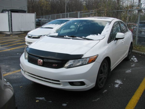 Honda Civic Sdn SI / NAVIGATION / TOIT OUVRANT 2012