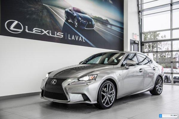 Lexus IS 250 F-SPORT - NAVI - CAMÉRA - CUIR 2015