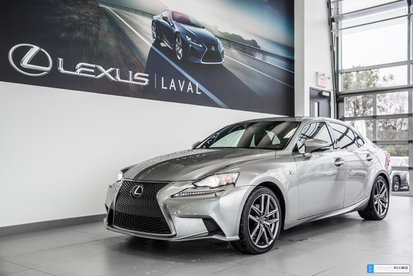 Lexus IS 250 F-SPORT 3 Navi-Cam-Audio M.Levinson et + 2015