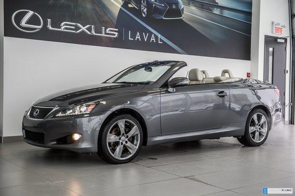 2012 Lexus IS 250C Cabrio / Navigation / Camera / Cuir