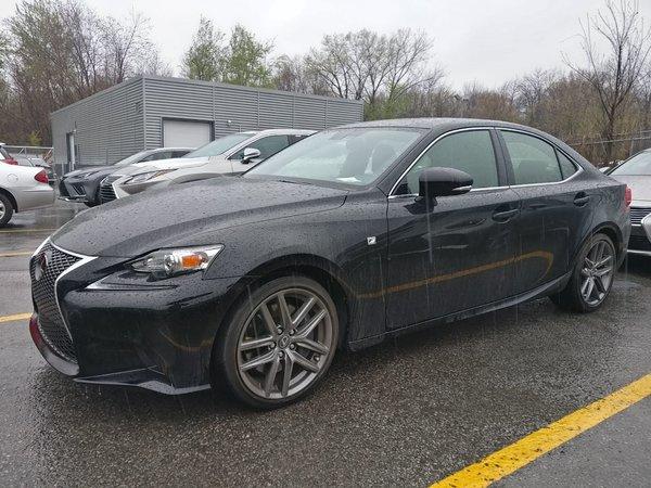 Lexus IS 300 F-SPORT 2 / GPS / Camera / Toit Ouvrant 2016