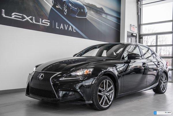 Lexus IS 350 F-Sport 2 / GPS / Camera / Cuir / Toit 2015