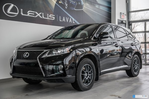 Lexus RX 350 F-SPORT 2 /GPS / CAM/ Headsup display 2013
