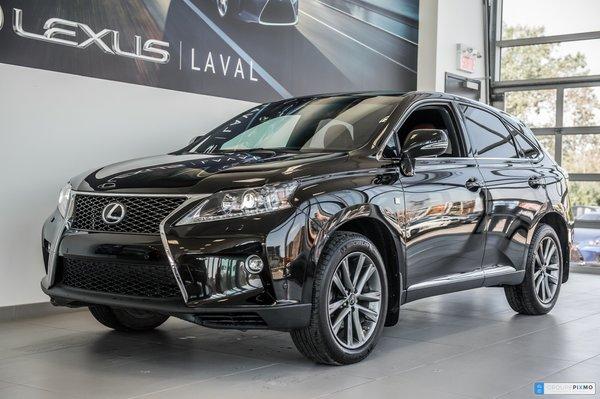 Lexus RX 350 F-Sport  / Navigation / Camera / HUD 2015