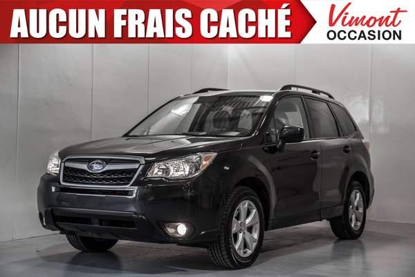 2015 Subaru Forester 2015+HB+CONVENIENCE+BLUETOOTH+SIEGES CHAUFFANTS