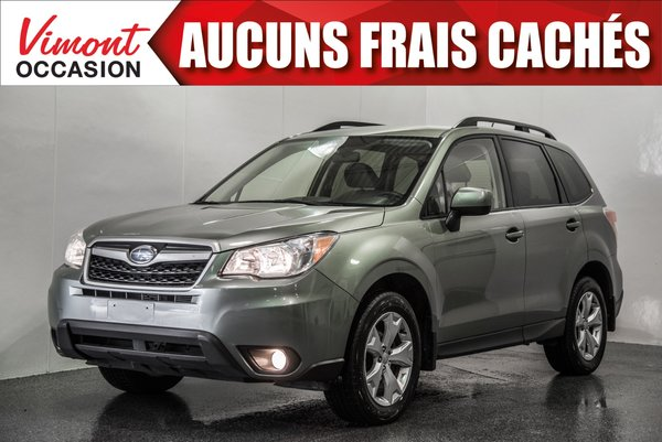 2015 Subaru Forester 2015+AWD+CONVENIENCE+CAMERA RECUL+SIEGES CHAUFFANT