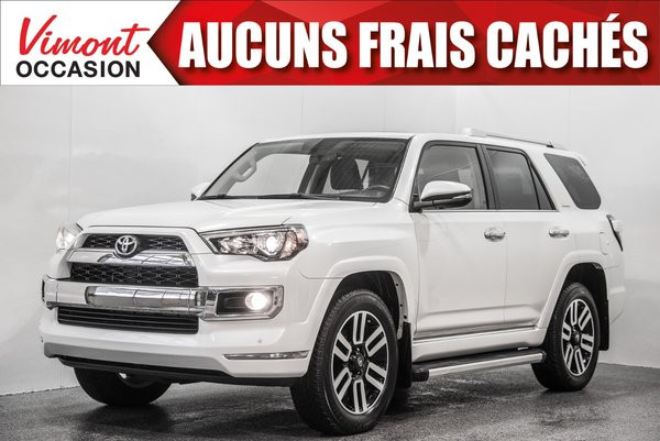 2016 Toyota 4Runner 2016+LIMITED+7PASSAGERS+CUIR+NAV+TOIT+CAMERA RECUL