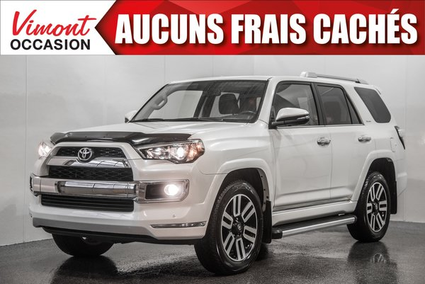 2017 Toyota 4Runner 2017+LIMITED+CUIR+NAV+5 PASSAGERS+CAMERA RECUL+++