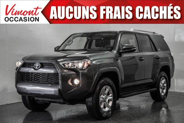 2017 Toyota 4Runner 2017+SR5+GR AMELIORÉ+CUIR+TOIT+NAV+CAMERA ERCUL