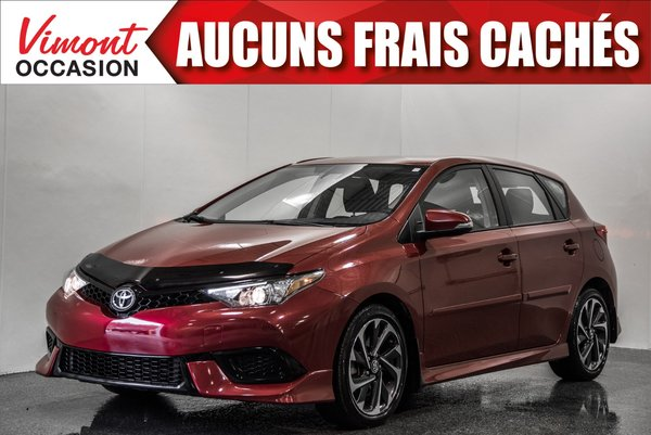 Toyota Corolla iM 2017+HB+CAMERA RECUL+SIEGES CHAUFFANTS+BLUETOOTH 2017