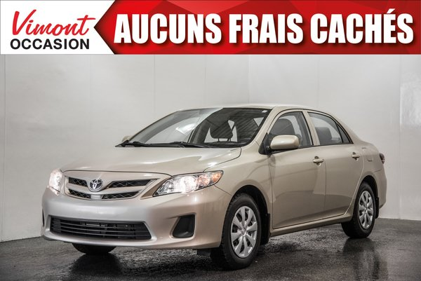 2012 Toyota Corolla 2012+CE+A/C+GR ELEC COMPLET+SIEGES CHAUFFANTS