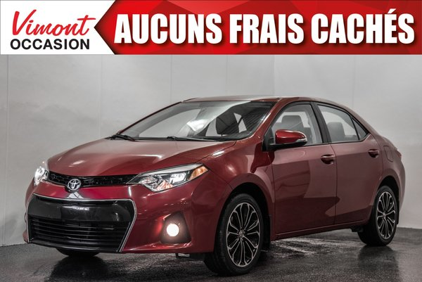 2014 Toyota Corolla 2014+S+TOIT+MAGS17+CAMERA RECUL+SIEGES CHAUFFANTS