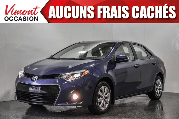 2014 Toyota Corolla 2014+S+CAMERA RECUL+SIEGES CHAUFFANTS+BLUETOOTH