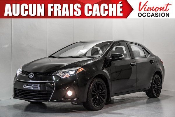 2015 Toyota Corolla 2015+S+TOIT+MAGS17+CAMERA+SIEGES CHAUFFANTS