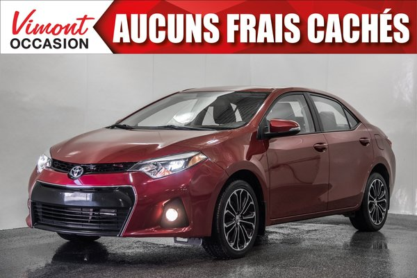 2015 Toyota Corolla 2015+S+TOIT+MAGS17+CAMERA RECUL+SIEGES CHAUFFANTS