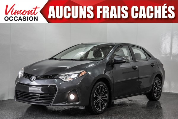 2015 Toyota Corolla 2015 S+GPS+CUIR+TOIT+MAGS