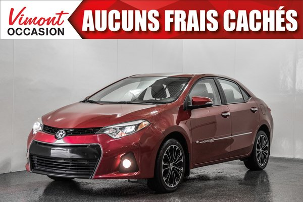 Toyota Corolla 2015+S+TOIT+MAGS17+CAMERA RECUL+BLUETOOTH 2015