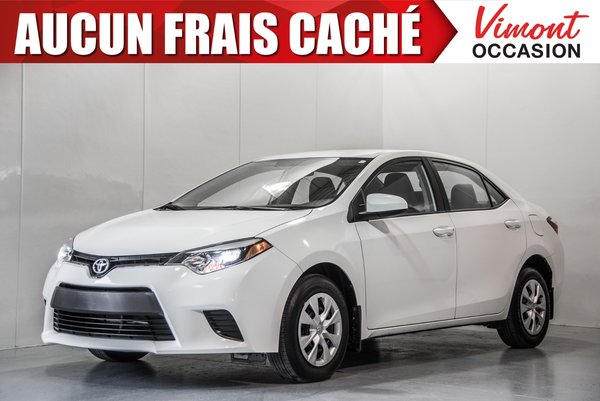 2016 Toyota Corolla 2016+CE+BLUETOOTH+A/C+GR ELEC COMPLET