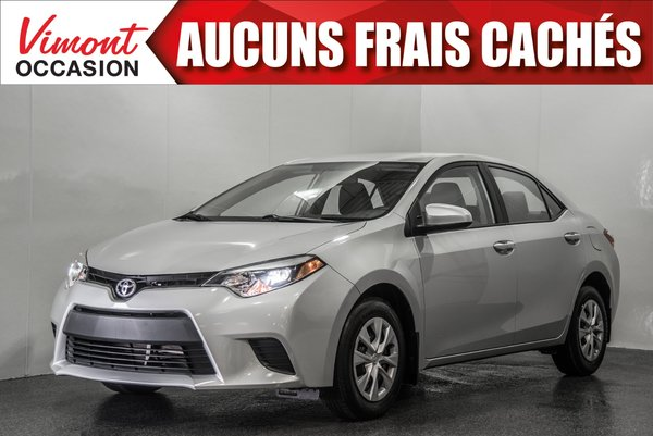 Toyota Corolla 2016+CE+A/C+GR ELEC COMPLET+BLUETOOTH 2016