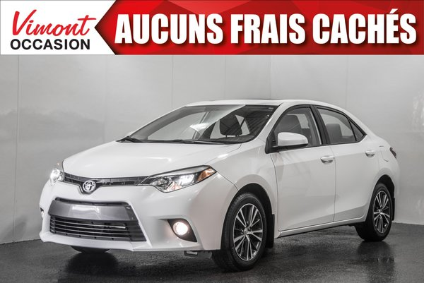 2016 Toyota Corolla 2016+LE+TOIT+MAGS17+CAMERA RECUL+SIEGES CHAUFFANTS
