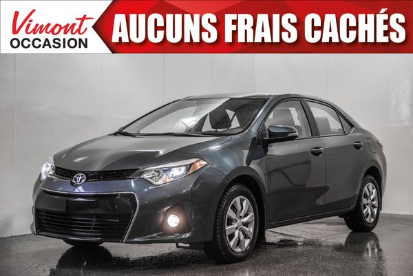 2016 Toyota Corolla 2016+S+CAMERA RECUL+SIEGES CHAUFFANTS+BLUETOOTH