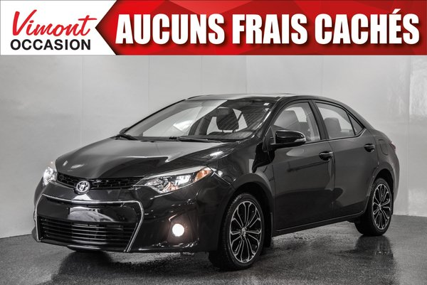 2016 Toyota Corolla 2016+TOIT+MAGS17+CAMERA RECUL+SIEGES CHAUFFANTS