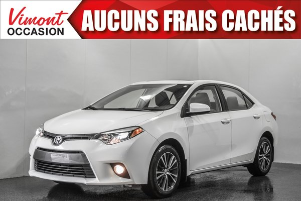 2016 Toyota Corolla 2016+LE+TOIT+MAGS+CAMERA RECUL+SIEGES CHAUFFANTS+