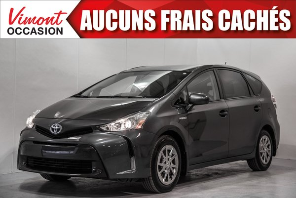 Toyota Prius v 2015+HB+GROUPE LUXE+CUIR+NAV+CAMERA RECUL 2015