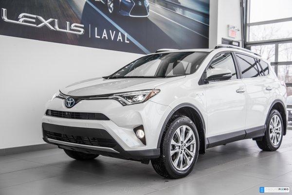 2016 Toyota RAV4 Hybrid LIMITED - NAVIGATION - CAMÉRA