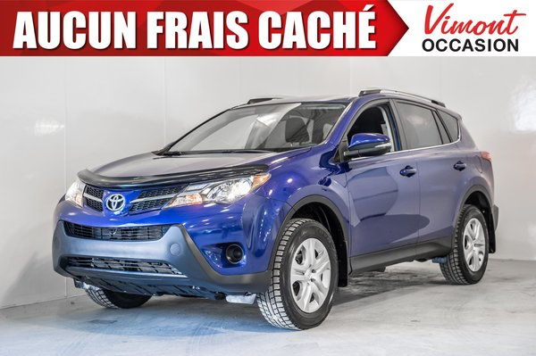 Pre Owned 2014 Toyota Rav4 2014 Le Awd Camera Recul Sieges Chauffants In Laval Pre Owned Inventory Vimont Toyota In Laval