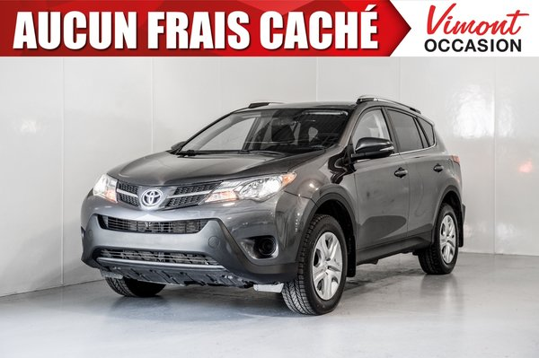 2015 Toyota RAV4 2015+AWD+LE+CAMERA RECUL+BLUETOOTH