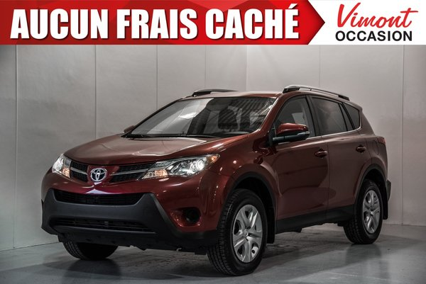 Toyota RAV4 2015+AWD+LE+CAMERA RECUL+SIEGES CHAUFFANTS 2015