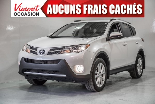 2015 Toyota RAV4 2015+LIMITED+AWD+CUIR+TOIT+CAMERA RECUL+BLUETOOTH